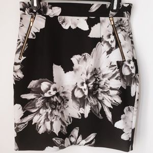 H&M Fitted Floral Skirt (8)